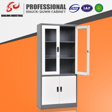 good quality upper glass door steel cabinet models office filing cabinet