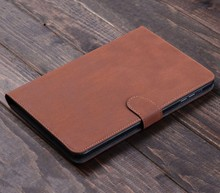 Luxury Leather Wallet Smart Flip Stand Case With Card Holder Cover For ipad