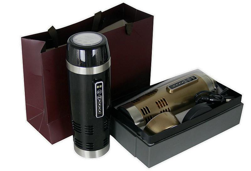 12 v de voiture tasse en acier inoxydable lectrique chauffe eau chaude et fra che tasse de. Black Bedroom Furniture Sets. Home Design Ideas