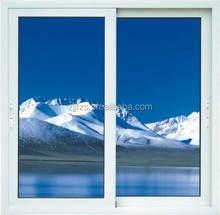 Hot sale sliding styles home windows, UPVC Sliding Window