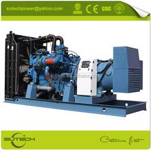 520KW MTU diesel generator with Germany original 12V2000G25 MTU engine