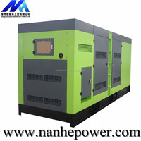 Low Price Sound Proof Famous Engine And Alternator 320KW Diesel Generator
