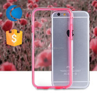 Ultra thin soft tpu and pc mobile phone cover for huawei ascend plus h881c phone case for apple iphone 6