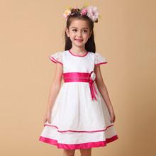 Latest Elegant Lace Kids Party Wear Flower Girls Dresses for Wedding