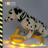 Reflective safety pets products,LED pets leashes,LED pets belt with CE EN13356