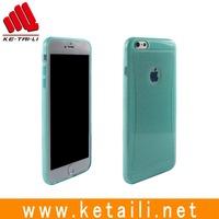Customized Design Glitter TPU Mobile Phone Case for iPhone 6S Plus