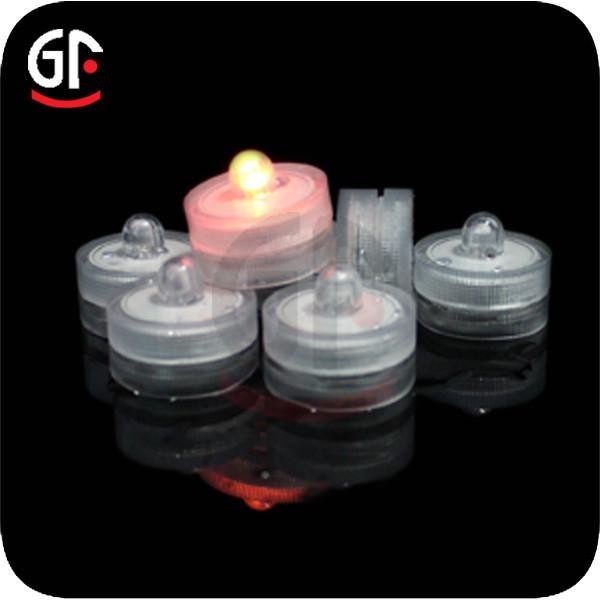 Round Shape Mini Submersible Led Lights