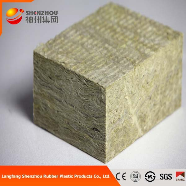 Wall Insulation Sound Proof Rock Wool Sandwich Panel