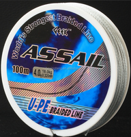 PE braid fishing line, high abrasion resistance, super strength, smooth surface, suitable seawater/freshwater, durability