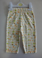 High quality 100% cotton comfortable printing kids pants for boy