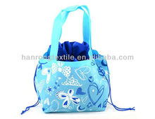 Light blue collection candy drawstring bag