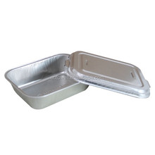 disposable rectangular aluminium foil turkey pan roaster tray