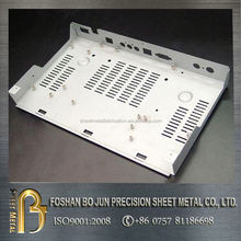 customized white powder coated laser chassis fabrication made in chinese manufacturing company