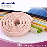 Customize table edge protector corner guard safety rubber glass edge protector
