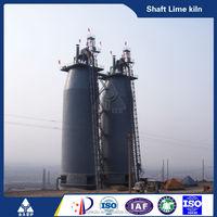 Coke or anthracite burning high efficient energy saving vertical shaft lime kiln