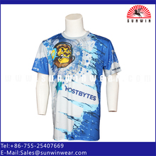 Custom Athletic T Shirts Sublimated Sports Wear