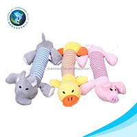 Various designs plush material dog toy