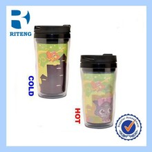 Carton picture Double Wall Plastic Insulated Water Bottle