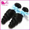 Produtos quentes para nova 2015 solta onda cabelo remy indiano 100% cabelo extensões de miami para a beleza