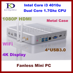 Bulk Core i3 4010u mini itx pc with 16G RAM 128G SSD HD 4K,300M WIFI,VGA,Win 7/8/10 support
