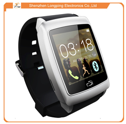 "U18 android smart watch 1.6"" IPS Screen MTK6571 Android 4.4 512 RAM 4GB ROM NFC GPS WIFI Bluetooth 4.0 Sleep Monitor"