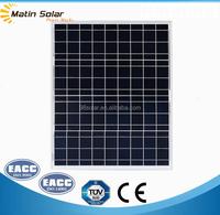 High efficiency 50w poly solar panel grade A solar module