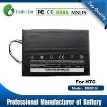 external battery for tablet pc , BG09100 battery for HTC Jetstream P715a , 7300mah battery tablet