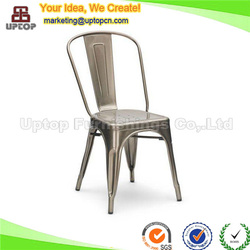 (SP-MC035) Modern stacking cafe metal chairs for sale