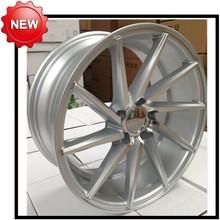 car alloy wheel/groove/lastest rim 0 ET 5 bolts