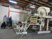2880mm Toilet Tissue Product Type and New Condition waste paper recycling machine in paper making