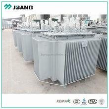 10kv 11kv 3 phase oil electric high voltage power transformer 800kva