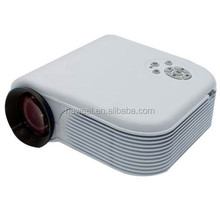 H88 Full HD 1080P Home Theater Mini Projector for Video Games TV Movie, Support Double HDMI / VGA / AV / Double USB(White)