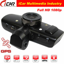 Newest AMBARELLA chipset full hd car dashboard camera with gps logger HD video Car DVR Recorder