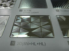 316L 2D mirror finish stainless steel plate