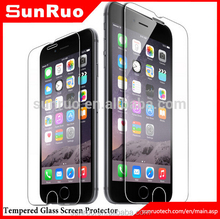 Cellular accessories wholesale price bulk mobile phone used tempered glass screen protector for iphone 6