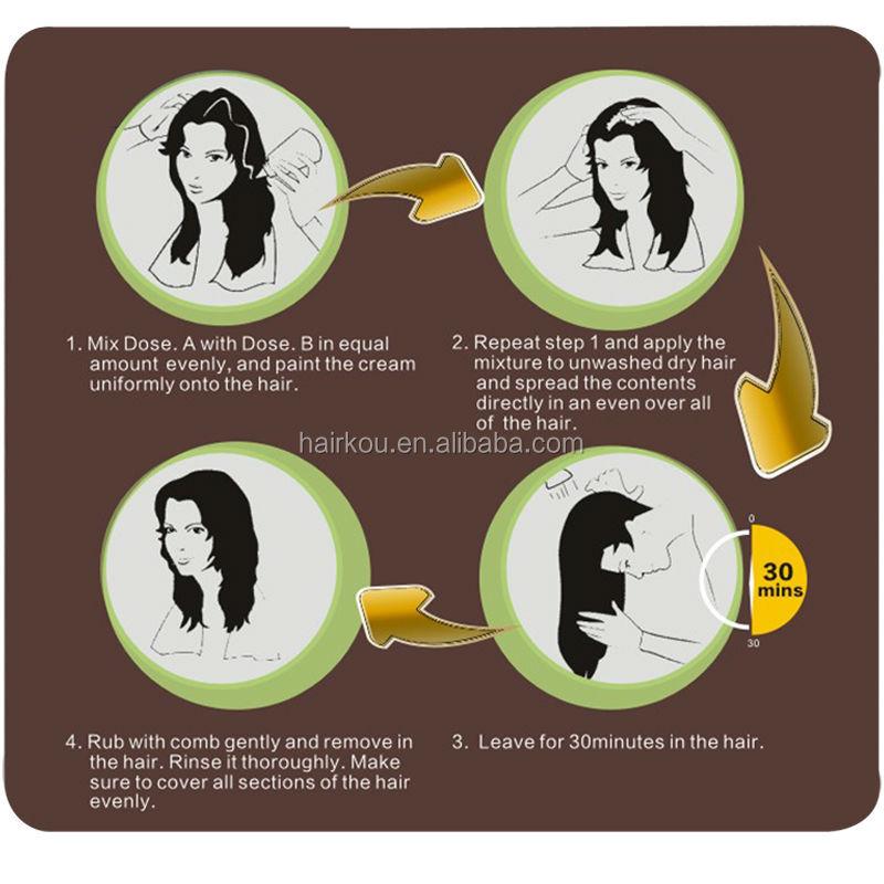 Argan Oil Hair Paint Box Dyehair Color Cream China Suppliermsds
