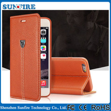 Real genuine leather case for iphone 6 / 6plus