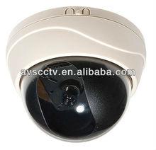 High Focus 700TVL Indoor Color Security Dome Camera CCTV Install