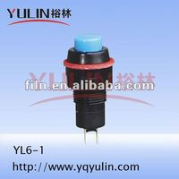 YL6-1 3pdt foot horn pushbutton switch cover momentary