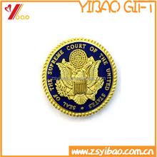 3D big irregular kirsite badges with color