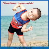 2015 european cute boy's swimwear models
