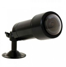 Waterproof 550TVL analog fisheye security camera