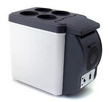 Thermoelectric cooler&warmer car refrigerator mini vehicle vegetable refrigerator