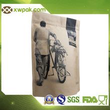 Aluminum foil Vacuum printed plastic laminated Tea Bag