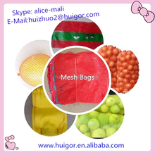 For wholesale customed High Quality PP mesh bag for packing vegetables and fruit china manufacturer