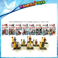 HOT SELL DIY Superhero Minifigures SY179 8PCS/set Building Bricks Blocks