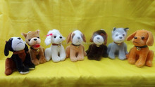 2015 best seller soft toy famous pet stuffed plush dog toy