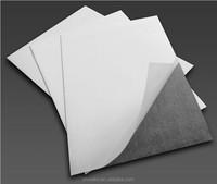 Flexible magnetic self adhesive PVC sheet