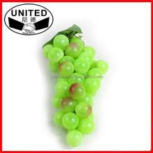 2015 most popular lifelike Fake fruit artificial,grape bunch crafts