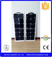 High quality PET Laminated solar flexible panel amorphous silicon module